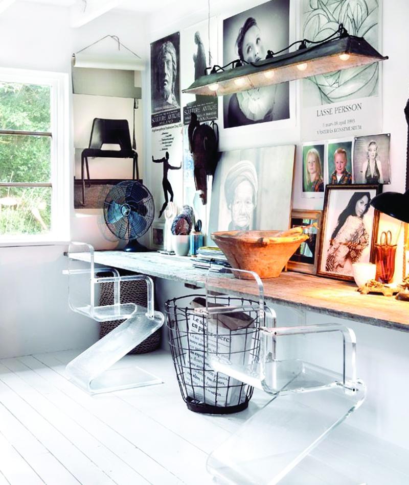 Instahome.ru винтаж в интерьере: дом шведского дизайнера.